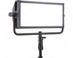 LitePanels Gemini 2x1 Bi-Colour LED Soft Panel with Yoke Mount and EU Power Cable
