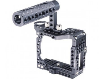 LockCircle OPENBOX 6500NY Bundle / Cage / Top Grip Handle for Sony a6500 / A6300 4K Camera