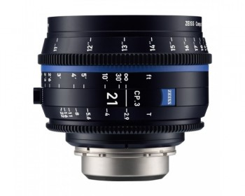 ZEISS CP.3 21mm T2.9 Compact Prime Lens