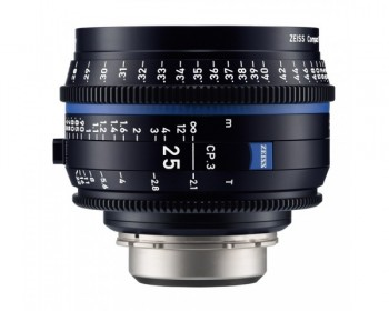 ZEISS CP.3 25mm T2.1 Compact Prime Lens