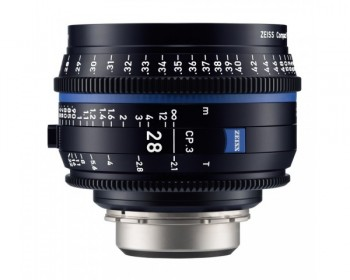 ZEISS CP.3 28mm T2.1 Compact Prime Lens