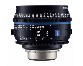 ZEISS CP.3 50mm T2.1 Compact Prime Lens