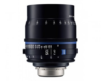 ZEISS CP.3 135mm T2.1 Compact Prime Lens