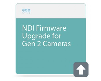 PTZOptics NDI Firmware Upgrade for Gen 2 Cameras