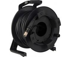 Canare FCC100N cavo in fibra ottica ibrido SMPTE a fibra ottica da 100m con rullo avvolgicavo