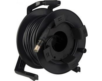 Canare Hybrid Fiber Optic Camera-Cable Assembly w/ FCMA & FCFA Connectors 150m