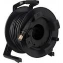 Canare FCC150N cavo in fibra ottica ibrido SMPTE a fibra ottica da 150m con rullo avvolgicavo