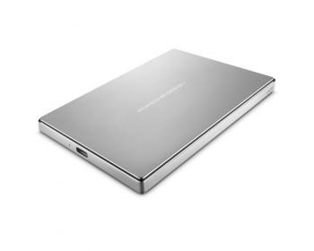 Lacie 2TB PORSCHE DESIGN 2.5 P'9223 USB 3.0 SILVER TYPE C