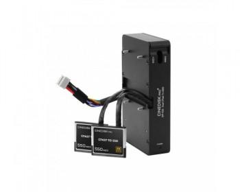 CINEDISKPRO DP-100 Dual CFast 2.0 To SSD Adapter for URSA Mini Pro, 4k, 4.6k