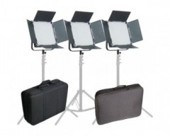 CAME-TV High CRI Digital 1024 Bi-Color LED 3-Light Kit