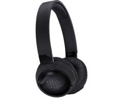 JBL TUNE 600BTNC Wireless On-Ear Headphones with Active Noise Cancellation (Black)