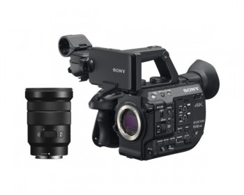 Sony PXW-FS5M2 4K XDCAM Super35mm Compact Camcorder with 18 to 105mm Zoom Lens