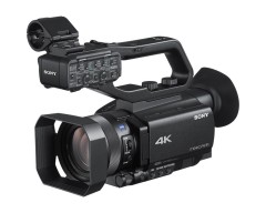 Sony HXR-NX80 NXCAM Compact 4K Camcorder with Exmor RS CMOS Sensor and 12x Zoom Lens