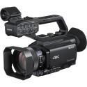 Videocamera Sony 4K HXR-NX80 NXCAM compatta con sensore CMOS Exmor RS e obiettivo zoom 12x