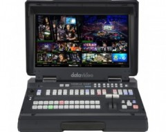 Datavideo 12 Input HD-SDI e HDMI Handy Mobile Studio con monitor LCD integrato da 17,3 ""