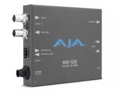 AJA Hi5-12G 12G-SDI to HDMI 2.0 Mini-Converter HDR