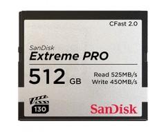 SanDisk CFast 2.0 Extreme Pro 512GB