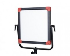 Swit PL-E60D DMX Bi-Colour Portable SMD Panel LED Light - 60W With V- Mount Battery Plate