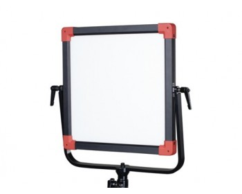 Swit PL-E60D DMX Bi-Colour Portable SMD Panel LED Light - 60W With V- Mount Battery Plate