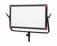 Swit PL-E90 90W Bi-colour Panel LED Light With V- Mount Battery Plate
