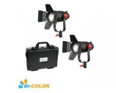 CAME-TV 2 Pc Boltzen 30w Fresnel Fanless Focusable LED Bi-Color With Bag