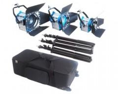 CAME-TV Dimmer + 300W+650W+1000W Tungsten Studio Video Spot Light