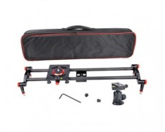 CAME-TV camera Slider Carbon Fiber 10 bearing carriage 80cm