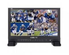 "CAME-TV 17.3"" 4K Broadcast Monitor with IPS UHD 3840X2160"