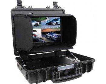 CAME-TV Portable Case 4K 17 Inch Monitor with HDMI