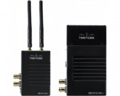 TERADEK Bolt XT 500 Wireless SDI/HDMI Transmitter/2x Receiver Deluxe Kit V Mount