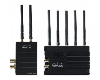 TERADEK Bolt XT 1000 Wireless SDI/HDMI Transmitter/Receiver Deluxe Kit AB Mount
