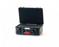 HPRC HPRC2500CUBBLK valigia in resina leggera,stagna e indistruttibile e personalizzabile.