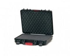 HPRC HPRC2580CUBBLK valigia in resina leggera,stagna e indistruttibile, personalizzabile.