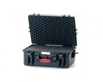 HPRC HPRC2600CUBBLK valigia in resina leggera,stagna e indistruttibile, personalizzabile.