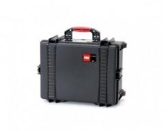 HPRC HPRC2600WEMPBLK valigia in resina leggera,stagna e indistruttibile, personalizzabile, completa di ruote.