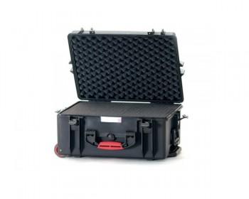 HPRC HPRC2600WCUBBLK valigia in resina leggera,stagna e indistruttibile, personalizzabile, completa di ruote.
