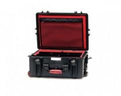 HPRC HPRC2600WSFDBLK valigia in resina leggera,stagna e indistruttibile, personalizzabile, completa di ruote.