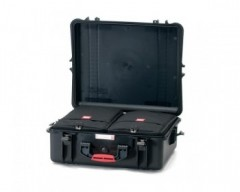 HPRC HPRC2700BAGBBLK valigia in resina leggera,stagna e indistruttibile, personalizzabile.