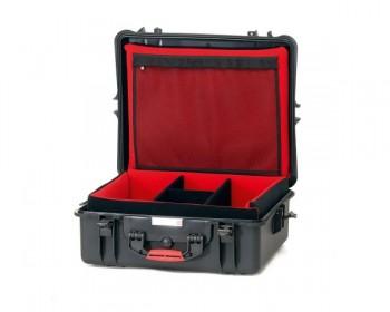 HPRC HPRC2700SFDBLK valigia in resina leggera,stagna e indistruttibile, personalizzabile.