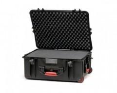 HPRC HPRC2700WCUBBLK valigia in resina leggera,stagna ,indistruttibile, personalizzabile, completo di ruote.