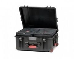HPRC HPRC2700WBAGBLK valigia in resina leggera,stagna ,indistruttibile, personalizzabile, completo di ruote.