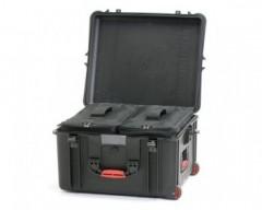 HPRC HPRC2730WBAGBLB valigia in resina leggera,stagna ,indistruttibile, personalizzabile, completa di ruote.