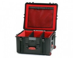 HPRC HPRC2730WSFDBLB valigia in resina leggera,stagna ,indistruttibile, personalizzabile, completa di ruote.