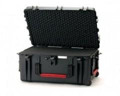 HPRC HPRC2780WCUBBLK valigia in resina leggera,stagna ,indistruttibile, personalizzabile, completa di ruote.