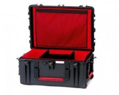 HPRC HPRC2780WSFDBLK valigia in resina leggera,stagna ,indistruttibile, personalizzabile, completa di ruote.