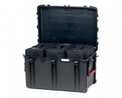 HPRC HPRC2800WBAGBLK valigia in resina leggera,stagna ,indistruttibile, personalizzabile, completa di ruote.