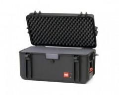 HPRC HPRC4300CUBBLK valigia in resina leggera, stagna , indistruttibile con interno personalizzabile.