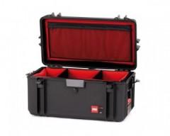 HPRC HPRC4300SFDBLK valigia in resina leggera, stagna , indistruttibile con interno personalizzabile.