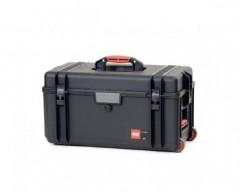 HPRC HPRC4300WEMPBLK valigia in resina leggera, stagna , indistruttibile con interno personalizzabile, completa di ruote.