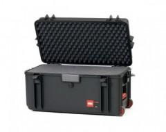 HPRC HPRC4300WCUBBLK valigia in resina leggera, stagna , indistruttibile con interno personalizzabile, completa di ruote.